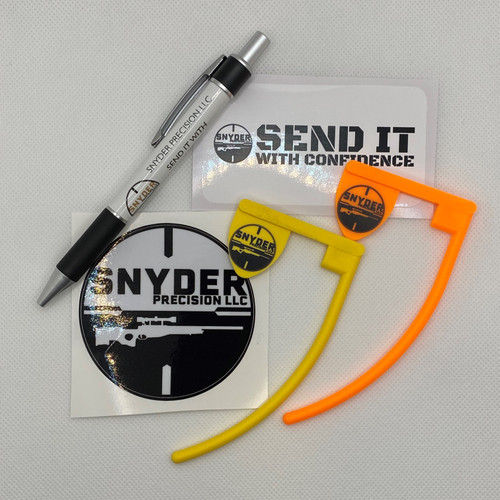 Snyder Precision Swag Pack