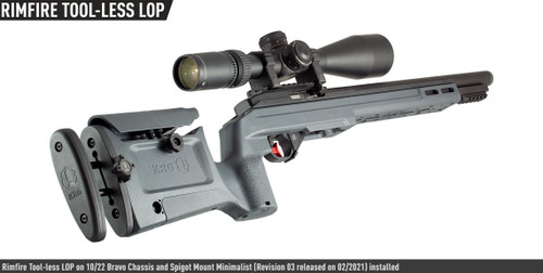 KRG 10/22 Bravo Tool-less LOP