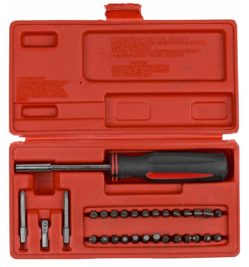 Gunmaster Professional 31 Piece Gunsmith Screwdriver Set