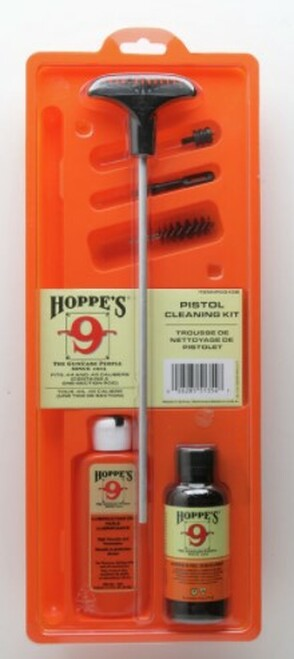 Hoppe's Pistol Cleaning Kit With Aluminum Rod