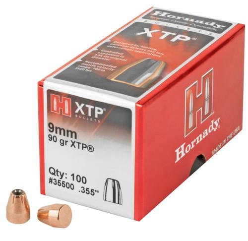 9mm .355 Diameter 90 Grain Hollow Point XTP - 100 Count