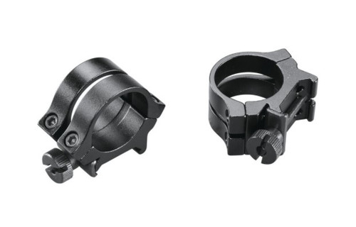 """Quad Lock Detachable 1"""" Scope Rings - Fits Firearms With Weaver Top Mount Rails"""