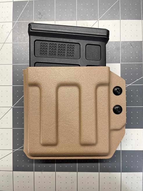 JMFD Customs AICS Short Action Mag Holster - Fits Polymer, Steel, and Vudoo Mags