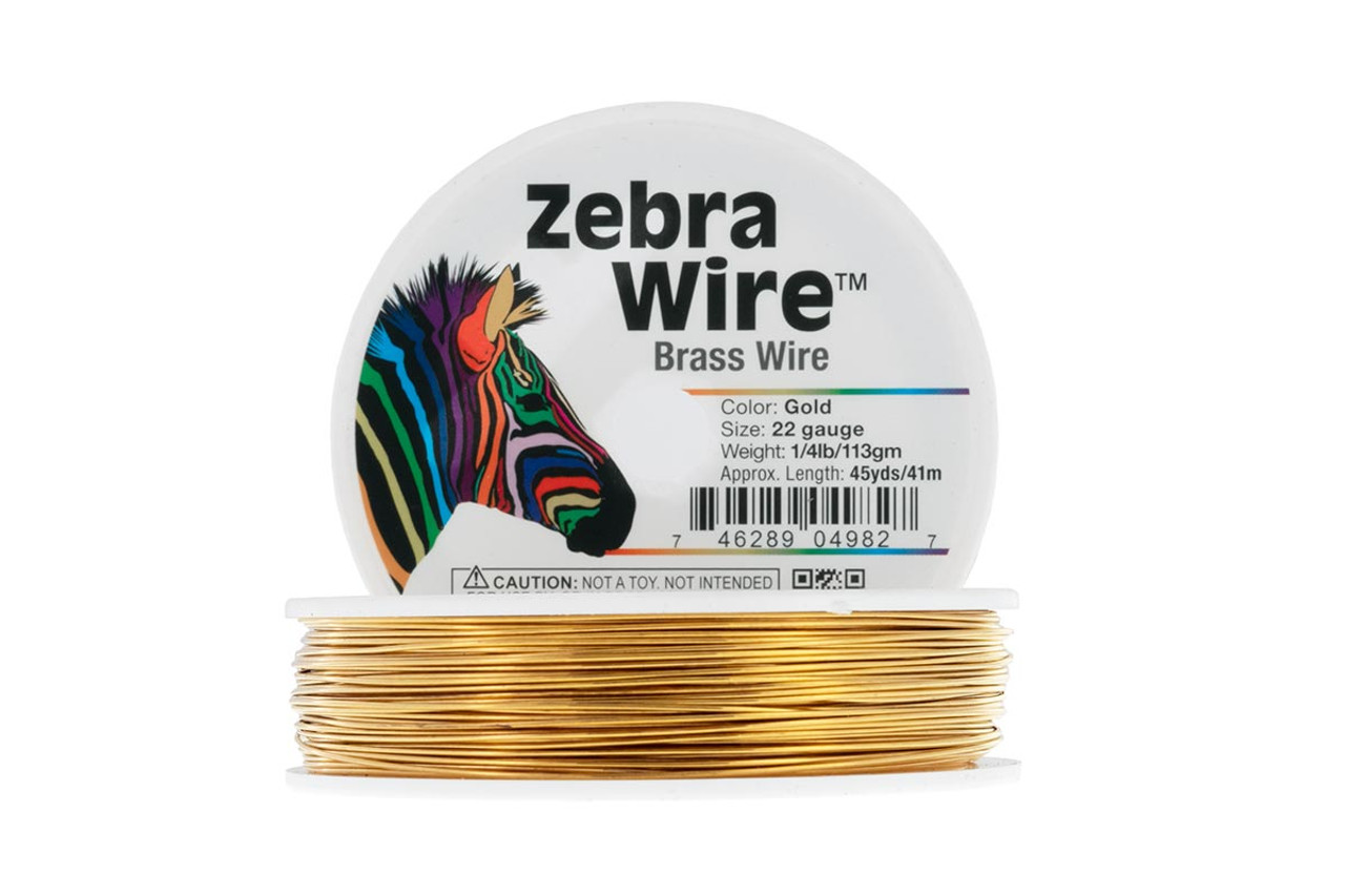 Zebra Bassoon Wire, 22 gauge, 15 yards