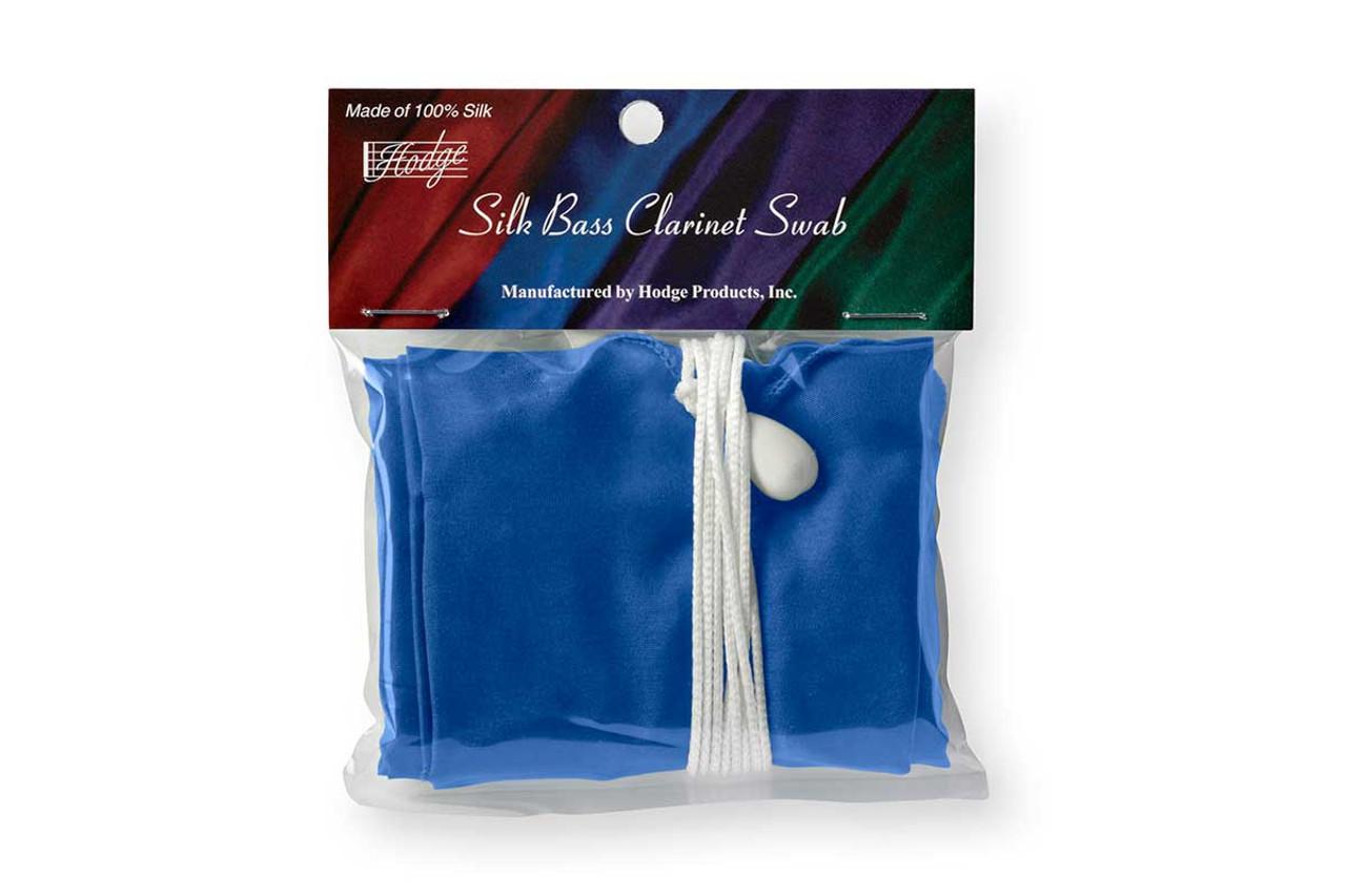 Hodge Silk Bass Clarinet Swab, Royal Blue