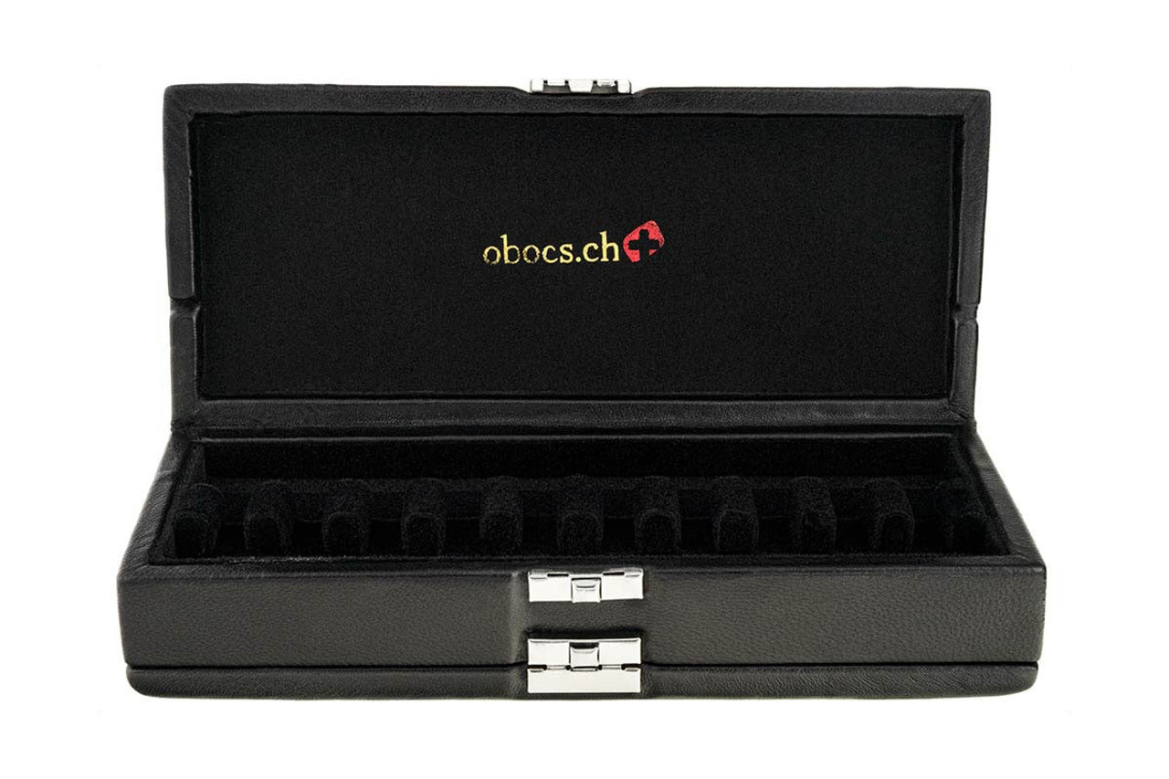 20-Reed Bassoon Reed Cases by Oboes.ch - Leather