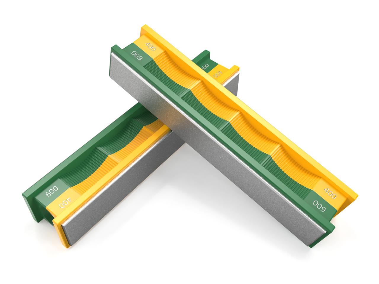 400/600 Grit Diamond Stone Paddle Set