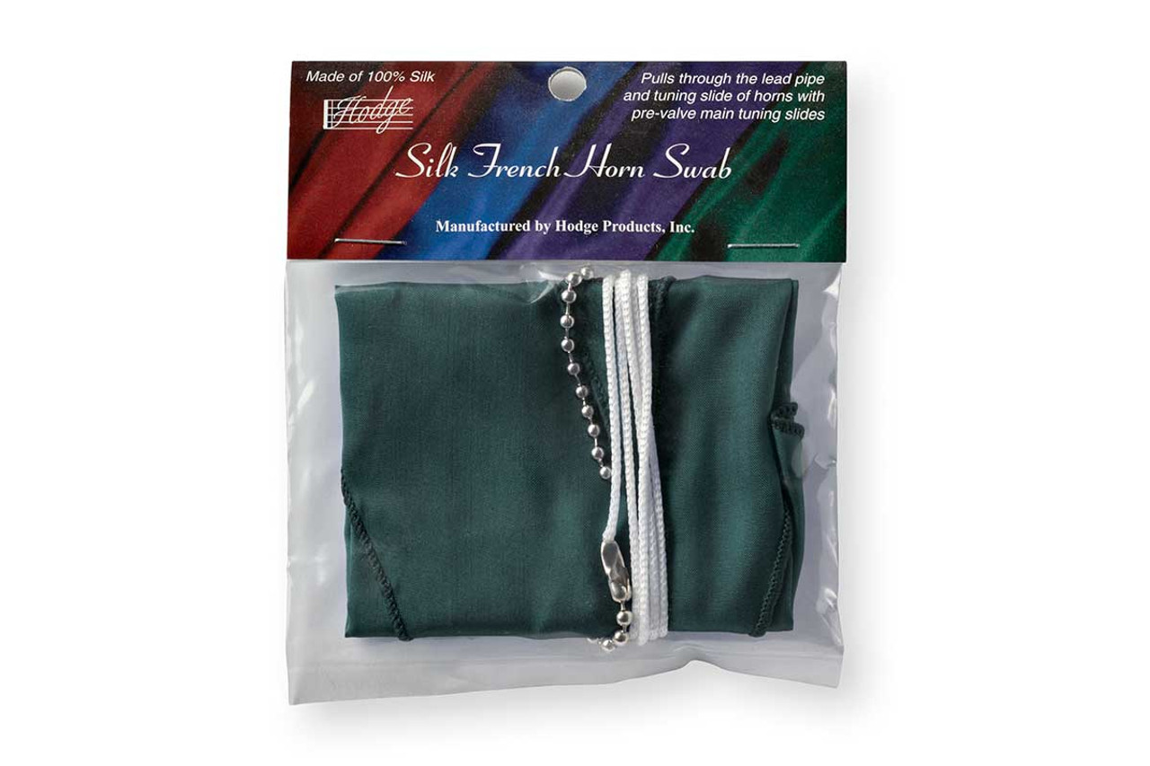 Hodge Silk French Horn Swab - Forest Green