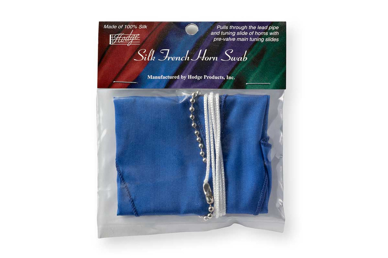 Hodge Silk French Horn Swab - Royal Blue
