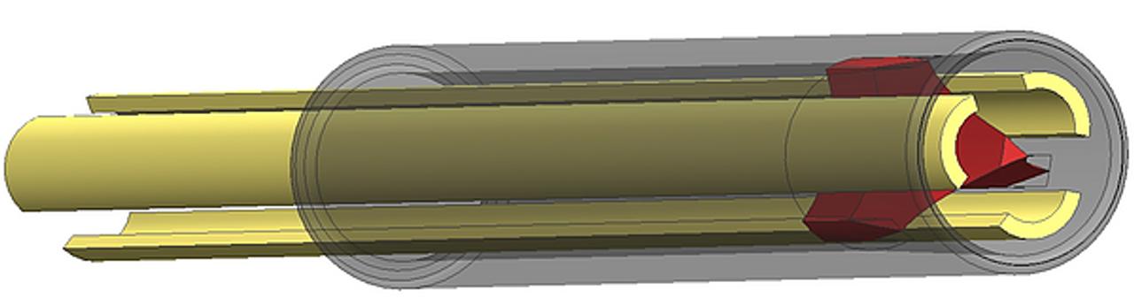 MusEcho Twin Oboe Splitter Traditional 3-blade