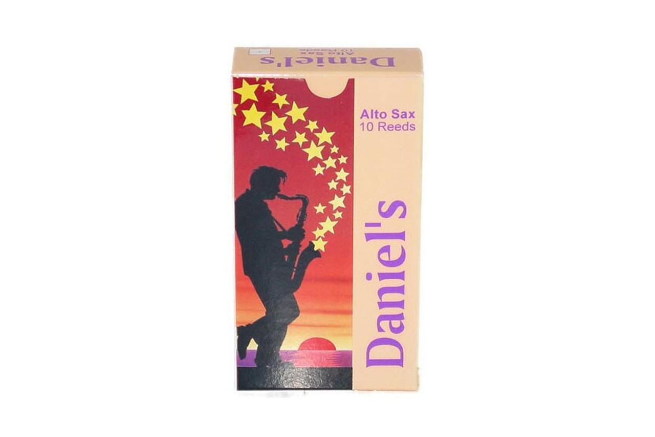 Daniel's Alto Sax Reed 10 Pack