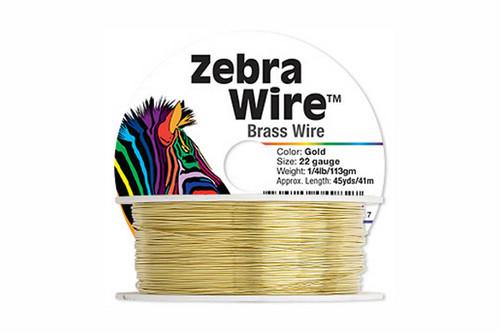 Zebra Bassoon Wire, 22 gauge, 45 yards