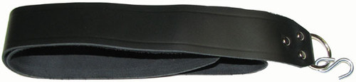 Fox Black Leather Seat Strap with hook