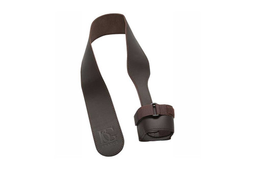 BG Brown Leather Seat Strap with adjustable cup