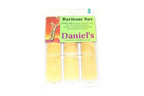 Daniel's Bari Sax Reed 3 Pack