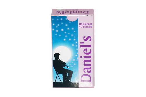 Daniel's Bb Clarinet Reed 10 Pack