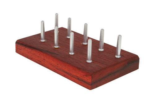 9-Pin Bassoon Reed Drying Board by GBS