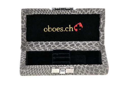 3-Reed Oboe Reed Cases by Oboes.ch in Silk