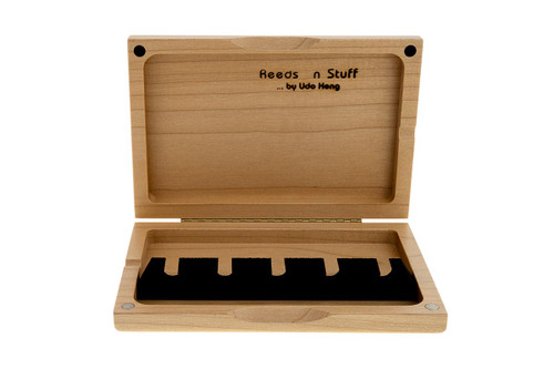 5-Reed Contrabassoon Reed Case by Reeds 'n Stuff