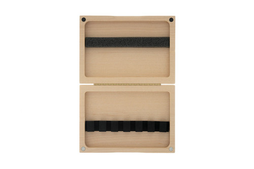 6-Reed Bassoon Reed Case by Reeds 'n Stuff, with Mandrels, Natural