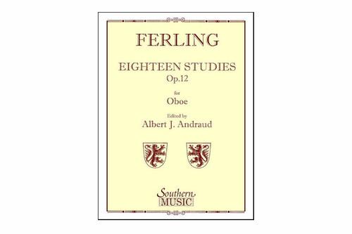 Ferling 18 Sudies, Op. 12 for Oboe