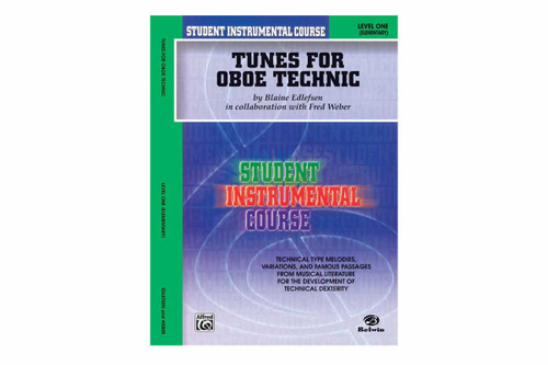 Student Instrumental Course: Tunes for Oboe Technic, Level I by Blaine Edlefsen