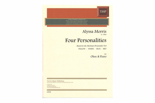 Morris: Four Personalities for Oboe and Piano
