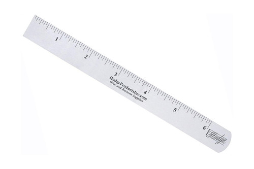 Hodge Steel Ruler - Inch Side