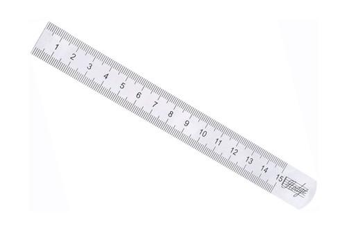 Hodge Steel Ruler - Metric/Imperial