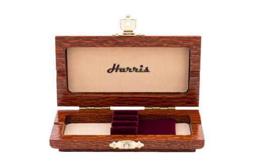 3-Reed Harris Oboe Reed Case (Leopard wood)