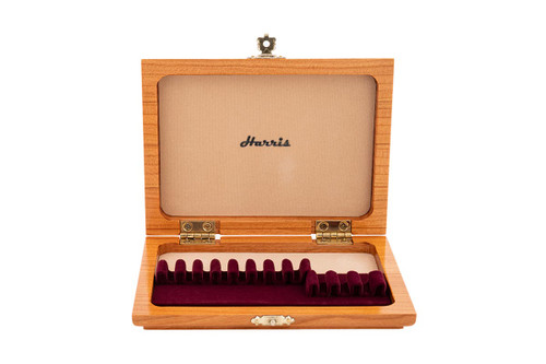 8 Oboe/3 EH Reed Case by Harris - Cherry