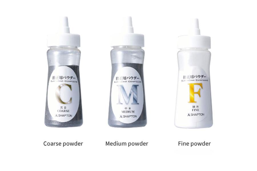 Shapton Lapping Powders - Coarse, Medium, and Fine Grit Powders