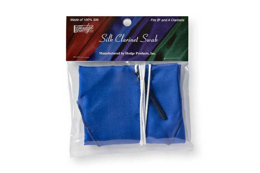 Hodge Silk Clarinet Swab - Royal Blue