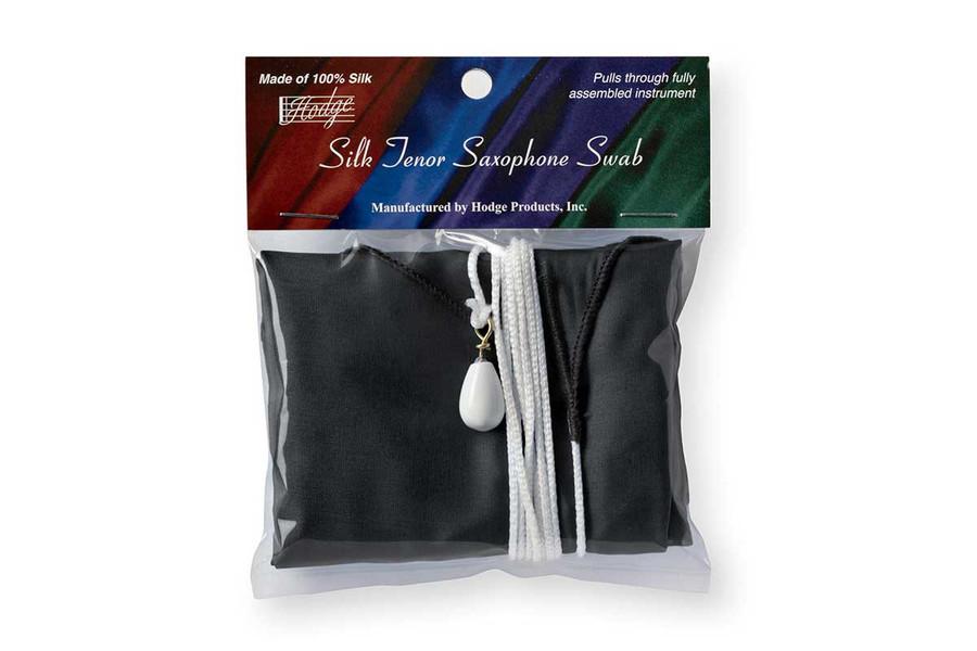 Hodge Silk Tenor Saxophone Swab - Performers Black