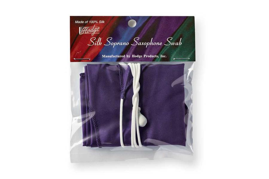 Hodge Silk Soprano Sax Swab - Deep Purple