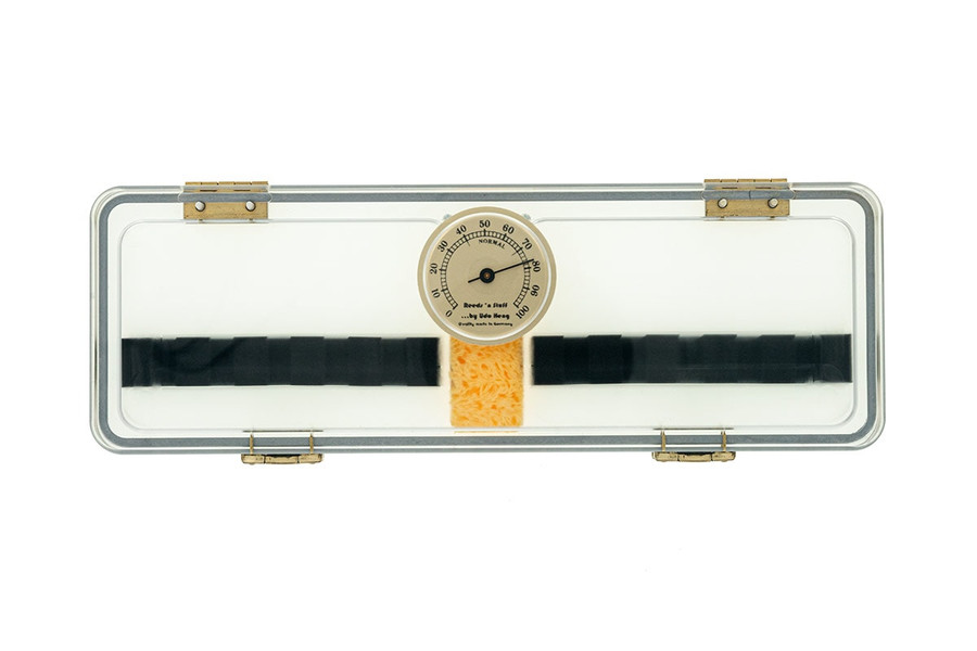 10-Reed Reeds 'n Stuff Bassoon Hygrocase Reed Case