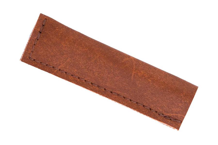 Pisoni Razor Edge Reed Knife with Round Handle Sheath