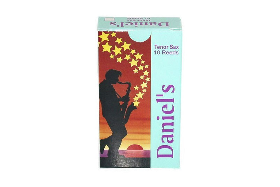 Daniel's Tenor Sax Reed 10 Pack