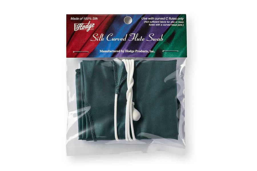 Hodge Silk Curved Flute Swab - Forest Green