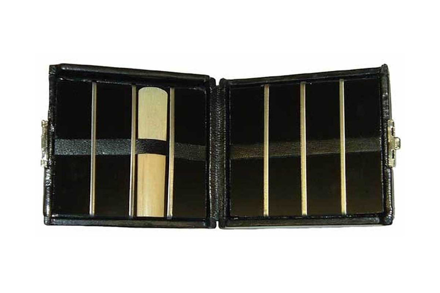 8-Reed Doublesided Alto Sax-Clarinet Reed Case - inside