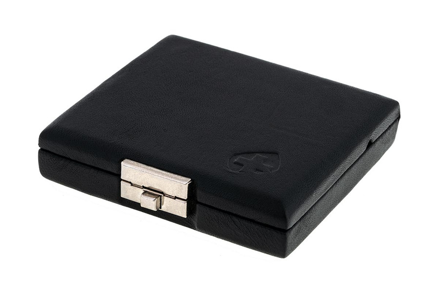 4-Reed Bassoon Reed Cases by Oboes.ch - Leather