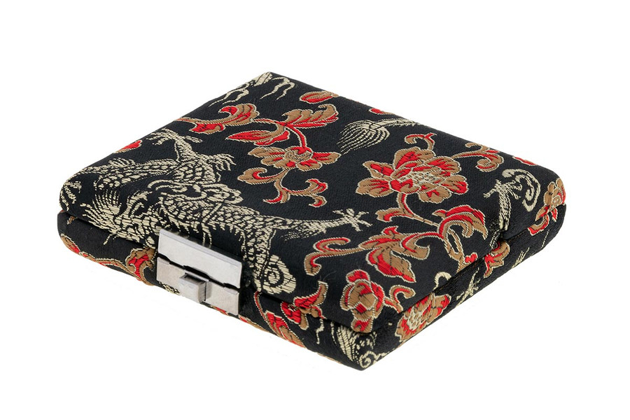 4-Reed Bassoon Reed Cases by Oboes.ch - Black with Gold Dragon