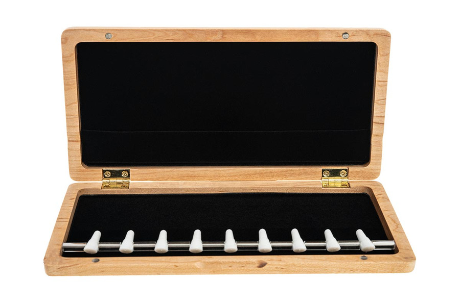 9-Reed Wood Bassoon Reed Case with Mandrels by Oboes.ch