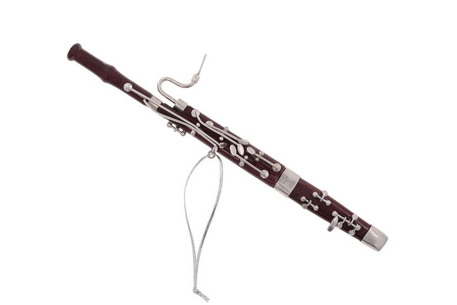 Bassoon Holiday Ornament