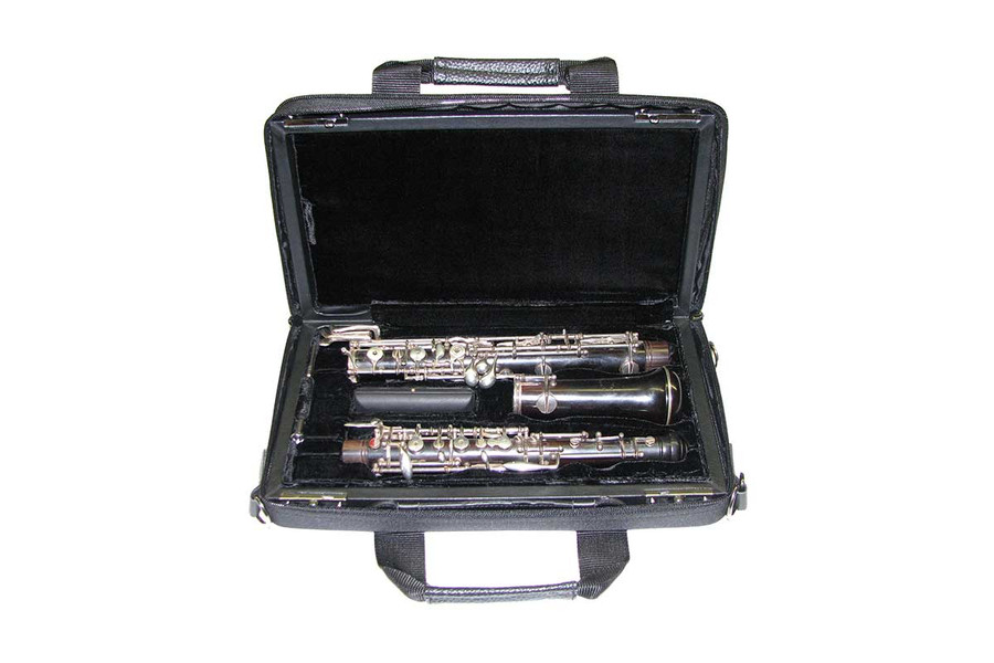 French-style Oboe Case with cover (instrument not included)