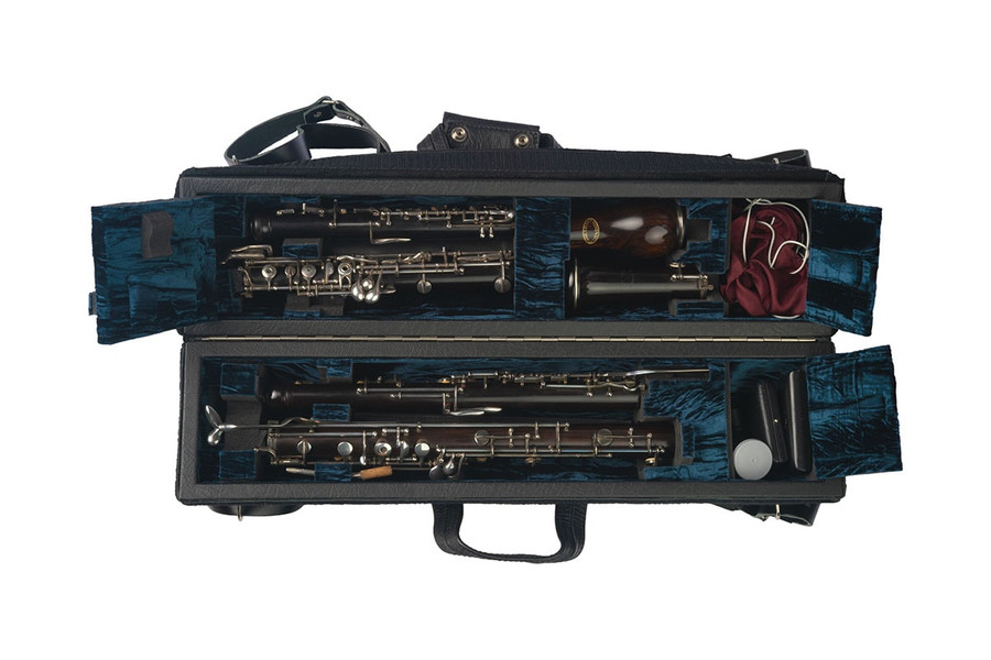 Wiseman Double Oboe/English Horn Case (Dark Blue) - Instrument not included