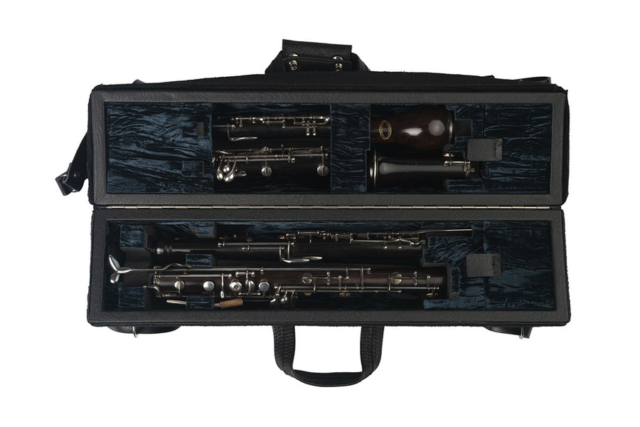 Wiseman Double Oboe/English Horn Case (Dark Blue) - Instruments not included