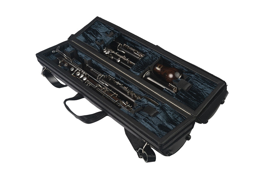 Wiseman Double Oboe/English Horn Case (Dark Blue) - Instruments and accessories not included