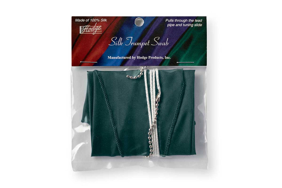 Hodge Silk Trumpet Swab - Forest Green