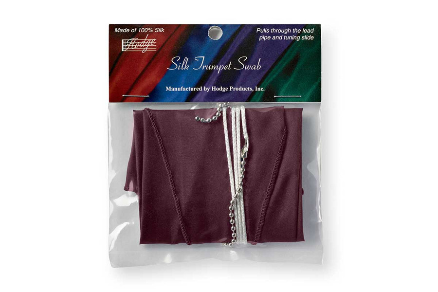Hodge Silk Trumpet Swab - Burgundy